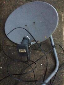 Satellite dish. Good condition.