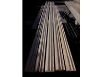 20 metres of timber / wooden dado rail