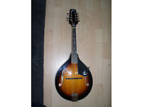 Epiphone Acoustic Mandolin in VG condition with gigbag