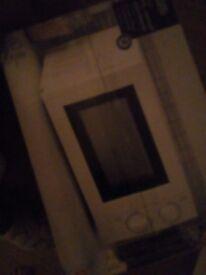 Brand new white mircowave still in box