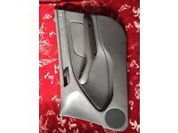 BMW 3 Series 325i Saloon 2004 DOOR PANEL/CARD GREY LEATHER