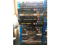 Collection of 75 bluray films 25 unopened
