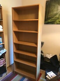 Two Shelving Cupboards