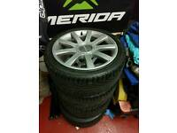 Original Audi B5 RS4 alloys and tyres
