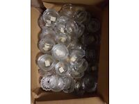 JOB LOT OF ASHTRAYS (60 IN TOTAL)