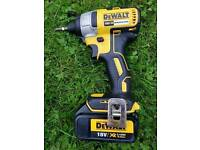 DEWALT DCF886N 18V XR BRUSHLESS IMPACT DRIVER BODY plus 3.0 ah battery