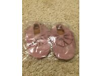 Brand New! Baby Moccasins Size 6-12 Months - WILL POST FOR £2