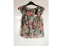 Topshop top new with tags size 12