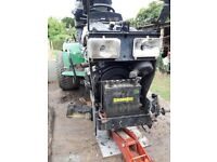 John Deere 455 ride on mower/tractor with 22hp Yanmar diesel engine spares or repair 1996