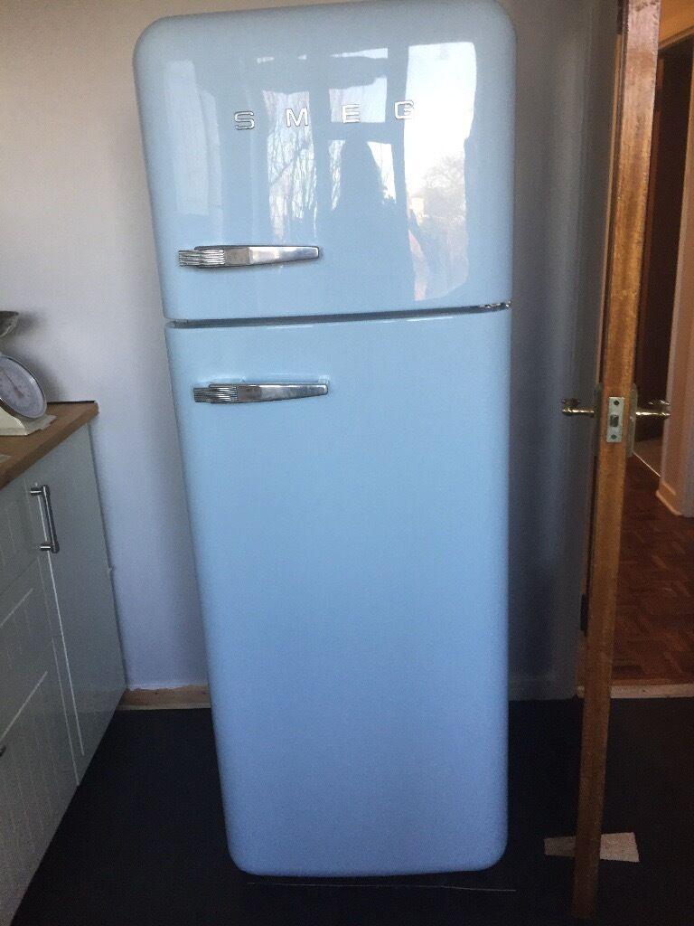 Retro SMEG Baby Blue Fridge Freezer | in Blackheath ...