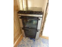 Zanussi 55cm gas oven and hob