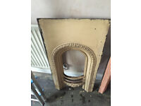 2 Iron Fireplaces For Sale
