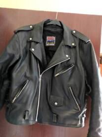 motorcycle / motorbike jacket leather
