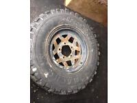 Vitara wheel & tyre