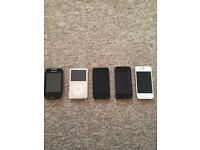 Used iPhones, iPods, and Samsung phone