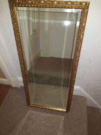 Large wall mirror £25
