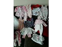 Newborn clothes bundle.