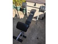 Pro fitness workout bench / bench press