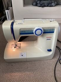 Toyota jeans sewing machine