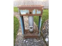 Vintage paraffin green house heater