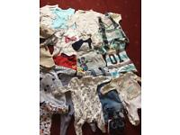 Newborn and 0-3 mths baby boy bundle