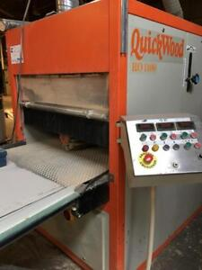 QUICK WOOD SYSTEMS Automatic Finishing Machine And Sealer Sanding