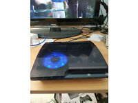 Playstation 3 XCM smoke grey transparent with Blue LED & Spare unused Blue led (RARE) 3.55/4.81cfw