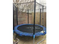 8ft trampoline good condition