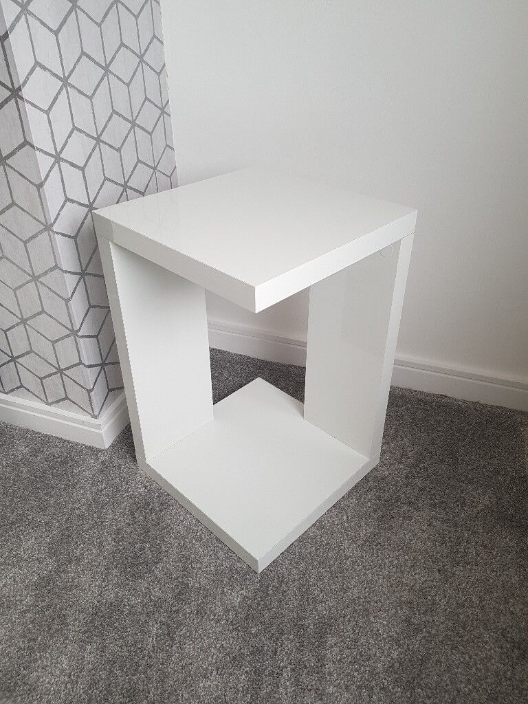 Next High Gloss Side Table In Airdrie North Lanarkshire Gumtree