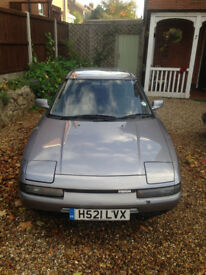 Mazda 323 coupe very low mileage with 12m MOT