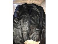 Women's leather jacket Betty Barclay