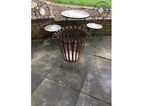 Garden fire basket