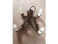 Stylish Ceiling Lights & 2 Side Lights - Excellent Clean Condition - Dimmable Bulbs Included