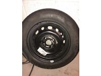 Brand new 175 65 R14 Pirelli tyre and steel wheel