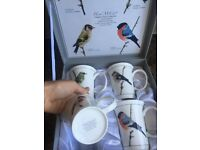 Heath McCabe, fine bone china mugs, from the Classic Finch Collection.