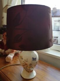 ainsley pottery lamp