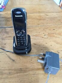 Panasonic extension phone plus mains adapter. Good. Condition