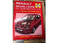 Haynes Megane & Scenic Manual