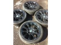 "18"" BMW alloy wheels with 245/40/18 tyres"