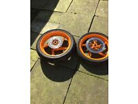 Honda cbr 125 wheels