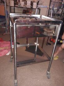 Metal medical table