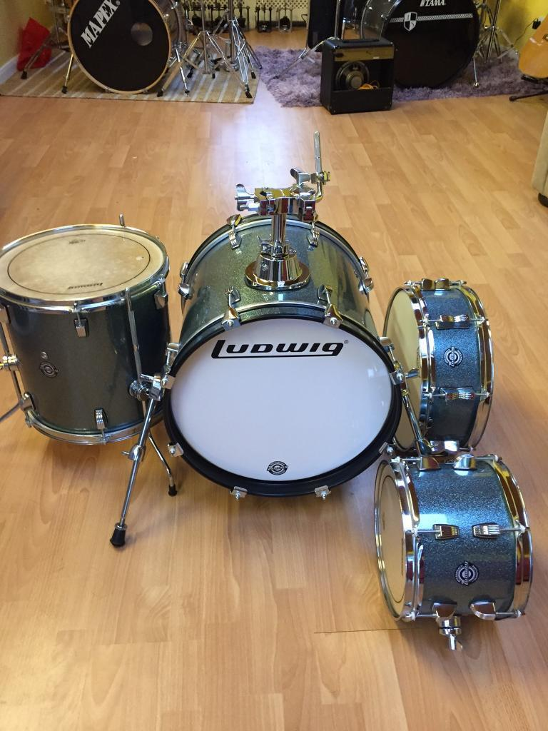 immaculate ludwig breakbeats drum kit in preston devon gumtree. Black Bedroom Furniture Sets. Home Design Ideas
