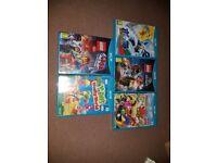 Nintendo wii u black, with games/ some sealed brand new + skylanders portals & figures