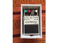 Boss LS2 Line Selector switcher pedal