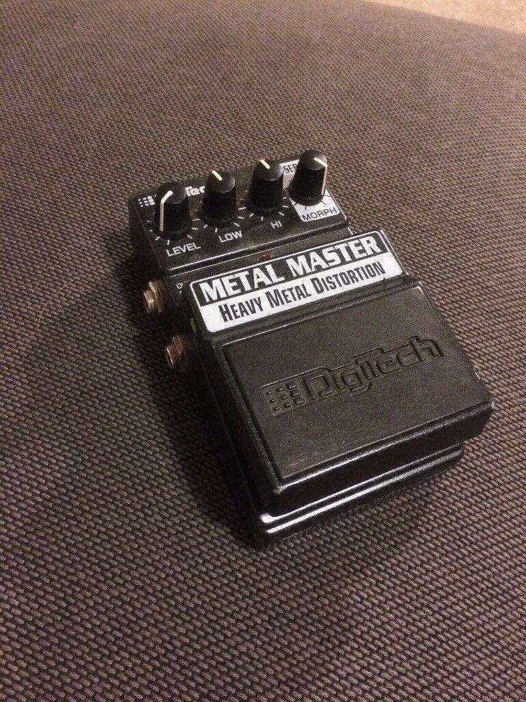 Distortion Pedal, Digitech metal master heavy metal distortion pedal.