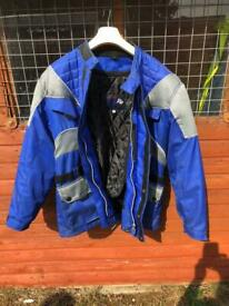 Makson Padded Removable Lining Bikers Jacket