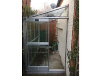 Greenhouse - lean-to - area 3.25 sq m