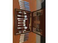 Sheffield Silver Plated Cutlery Set
