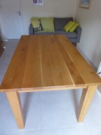 Oak Dining Table by Pinetum