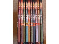 Doctor Who Books - box set of 10